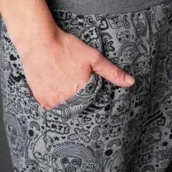 Gemütliche Sweatshirthose
