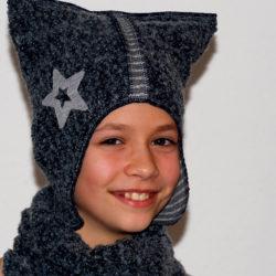 Kindermütze Wolle